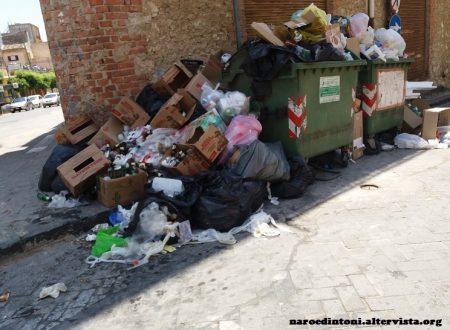 Situazione igienica ai limiti…naro&dintorni